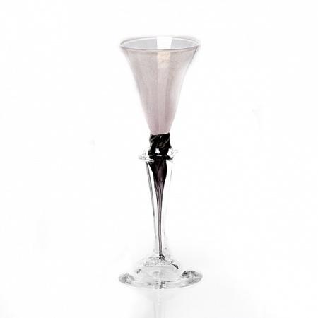 Dus (roze, klein), glas Knapstad