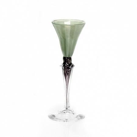 Dus (groen, klein), glas Knapstad
