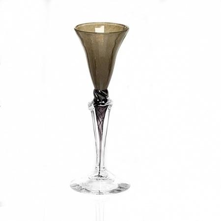 Dus (bruin, klein), glas Knapstad