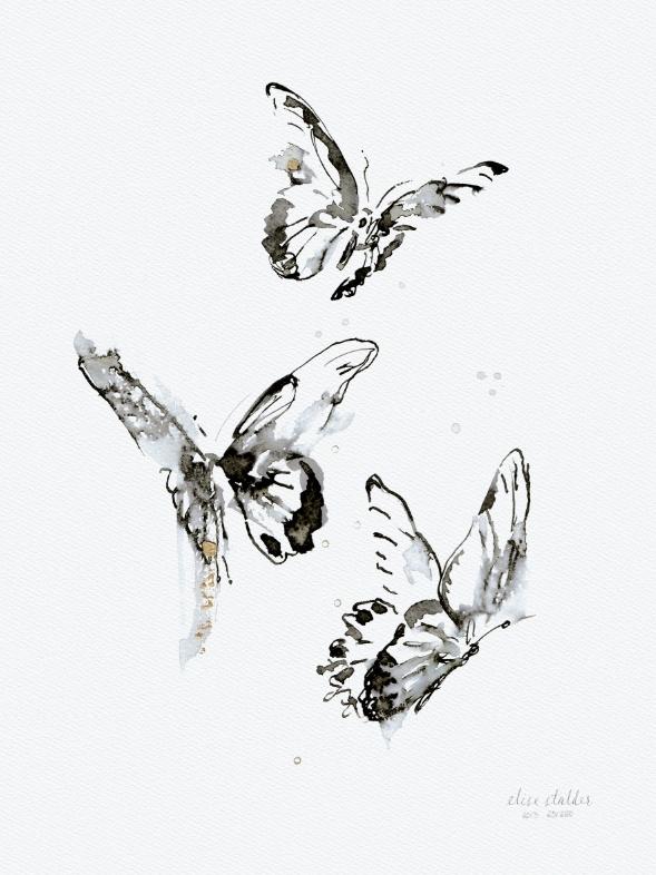 Zomerdans, kunstdruk Elise Stalder