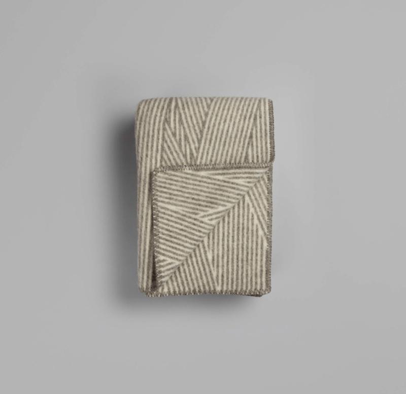 Røros Tweed, deken Naturpledd Nøste