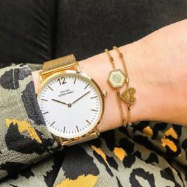Horloge Mesh Goud