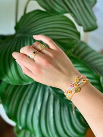 Armband Zonnebloem