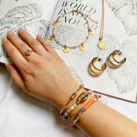 Armband Schelp Multi