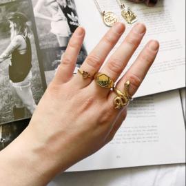 Ring Luipaard Goud