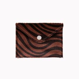 Mini Wallet Zebra Bruin