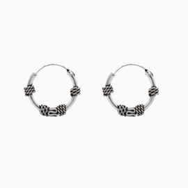 Bali Hoops Tribal 12 mm