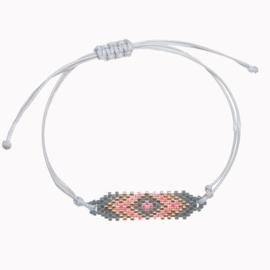 Geweven Armband - Grijs