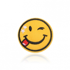 Jeans Patch - Smiley