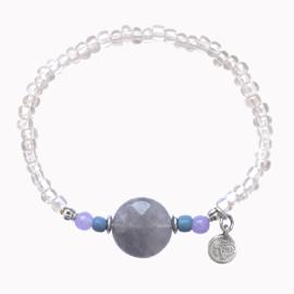 Stone Armband - Grijs