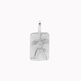 Between the Sheets Pendant Zilver