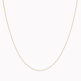 Curb Necklace Goud