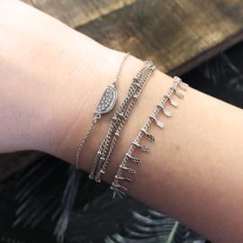 Armband Meloen - Zilver