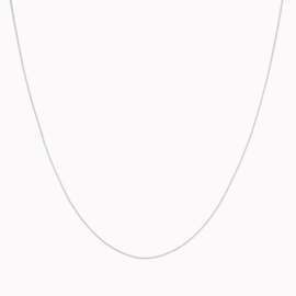 Curb Necklace Zilver