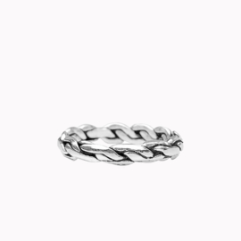 Ring Chunky Zilver