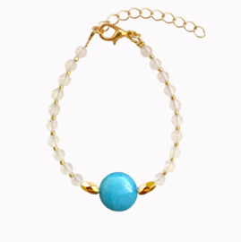 Armband Steen - Blauw