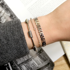 Armband Wired - Zilver