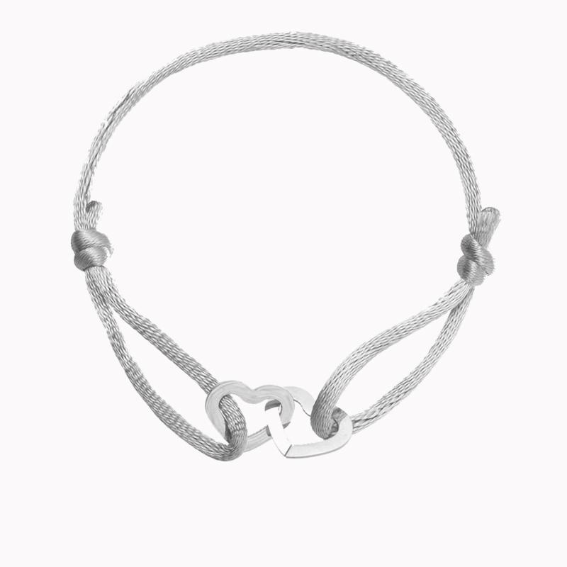 Armband Hartjes - Zilver