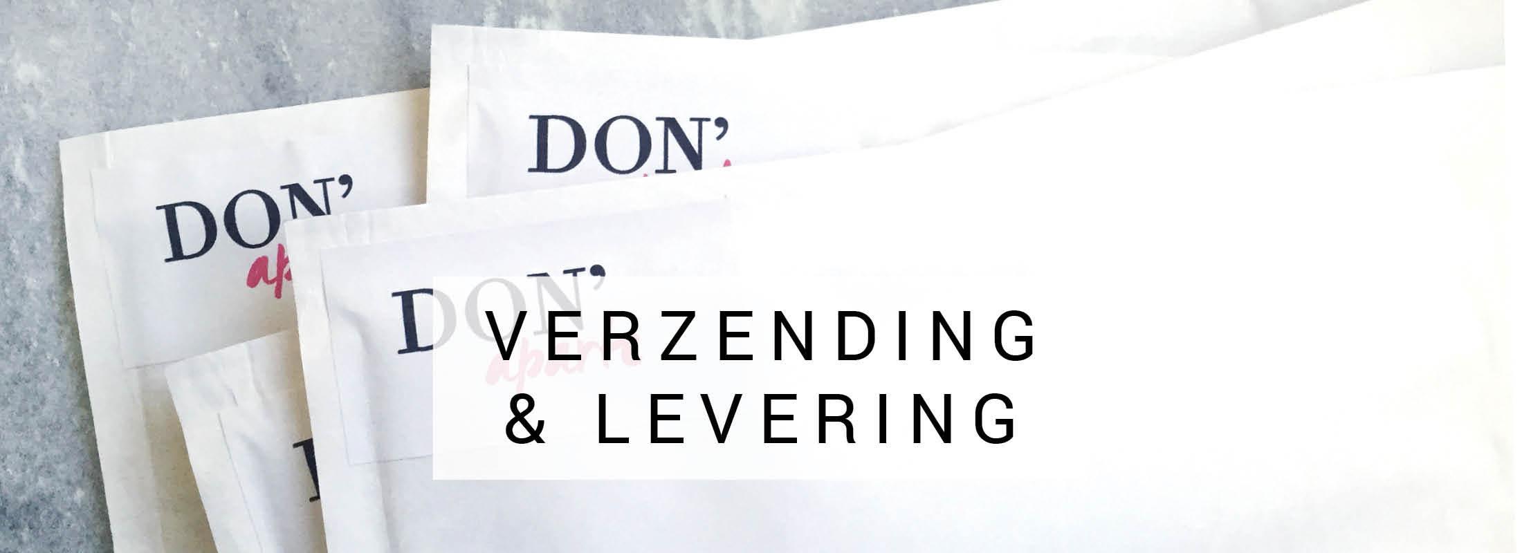 Verzending en levering