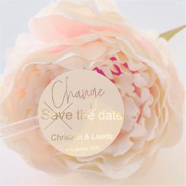 Foil Sticker White - Change the date