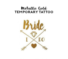 Tattoo - Boho Bride I Do