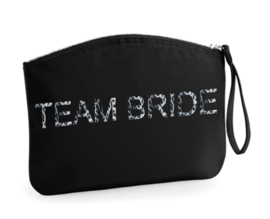 Canvas Make up Tas - Team Bride