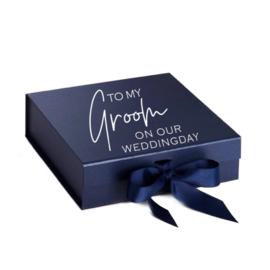 Luxury Gift Box Medium -To my Groom