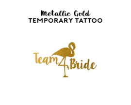 Tattoo - Team Bride Flamingo