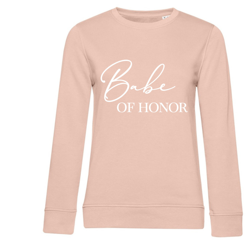 Sweater - Babe of Honor