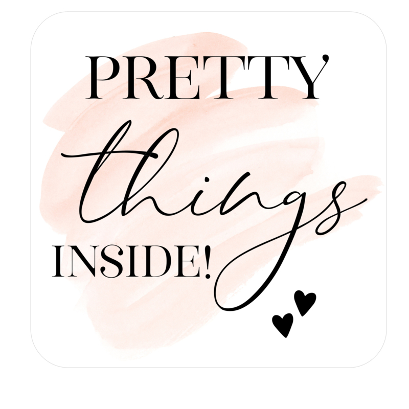 Sticker - Pretty things inside! | 15 Stuks