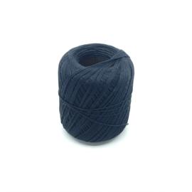 Glanskatoen zwart per 10 meter