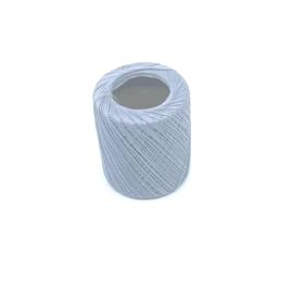 Glanskatoen zilvergrijs per 10 meter