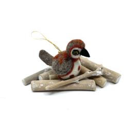 hangers vogel (in 5 soorten verkrijgbaar)