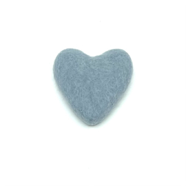 Hartje licht blauw/grijs 381