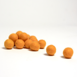 Viltballen warmgeel 358