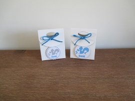 Serie Eekhoorntje blauw