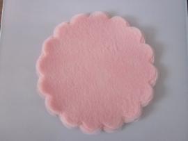 Polytule rond roze (12 stuks)