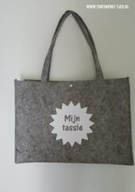 Vilten tas - Mijn tassie