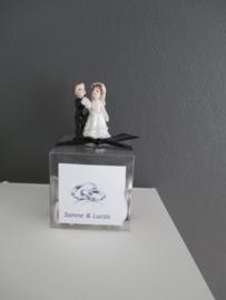 Bruidspaartjes klein