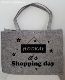 Vilten tas - shopping day