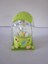 Schudbal groen BABY TUTTIE