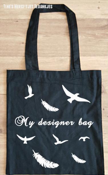 Katoenen tas - my designer bag