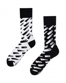 Many Mornings - sokken unisex - mismatched Brush Strokes