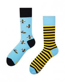 Many Mornings - sokken unisex - mismatched BeeBee