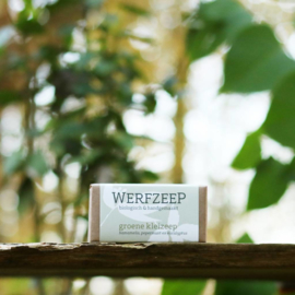 Werfzeep - Groene Kleizeep - Zeep 100 gram