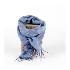 Sjaal met Verhaal - klein -  123 - lavendelblauw