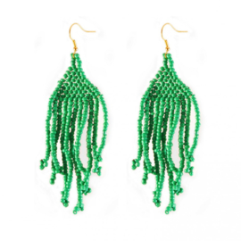 A story 2 tell - oorhangers - gorgeous green