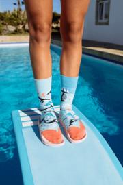 Many Mornings - sokken unisex - mismatched Ocean Life
