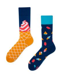 Many Mornings - sokken unisex - mismatched Ice Cream Dream