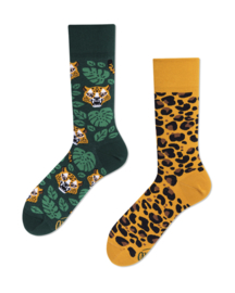 Many Mornings - sokken unisex - mismatched El Leopardo